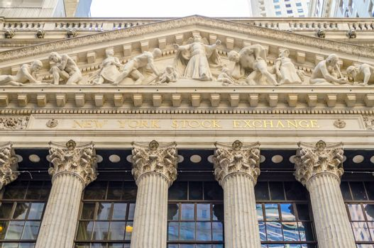 NEW YORK - MAY 27: Wall Street New York Stock Exchange is the world's largest stock exchange by market capitalization of its listed companies. May 27, 2013 in Manhattan, New York City