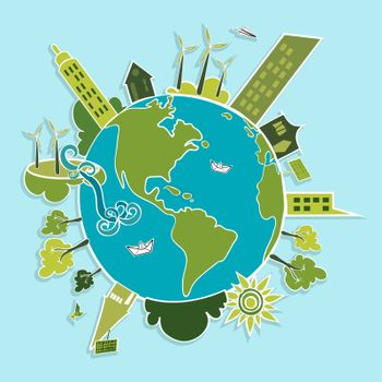 Green world renewable resources.
