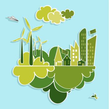 Green city renewable resources.