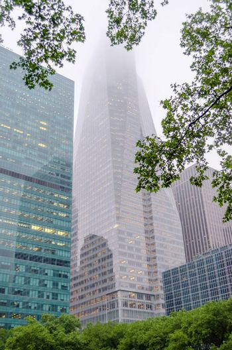 Skyscrapers overlooking Bryant Park, New York
