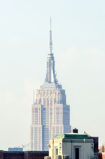 NEW YORK - CIRCA MAY 2013: The Empire State Building, Manhattan, circa May 2013. The Empire State Building is a 102-story landmark and American cultural icon in New York