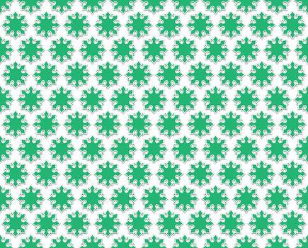 Contour Floral green background