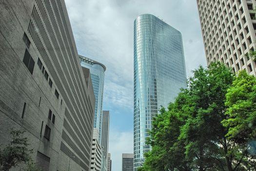 Beautiful cityscape of Houston, Texas