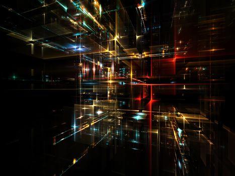 Realms of Fractal Metropolis
