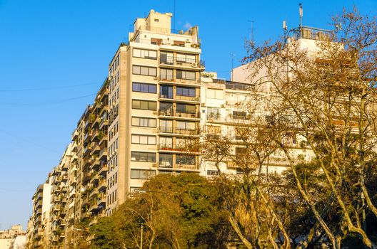 View of apartment buildings in Buenos Aires, Argentina