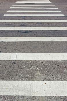 Zebra pedestrian crossing