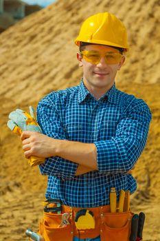 portrait of contractor