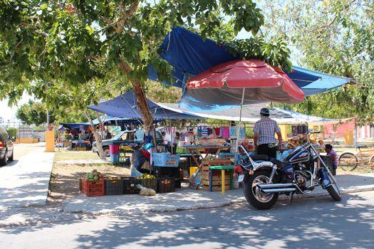 Typical Yucatan Street Market