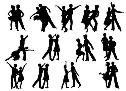 image of dancing people in different poses