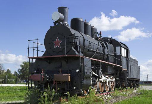 Soviet steam locomotive 30s