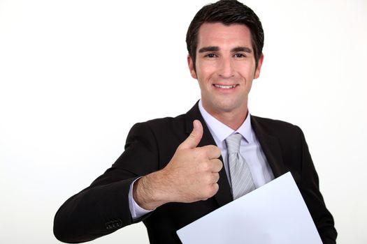 Satisfied Executive