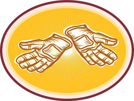 Workman Utility Gloves Retro
