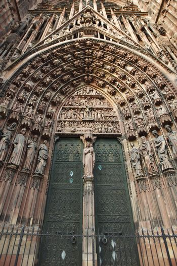 Gates of the Strasbourg Cathedral
