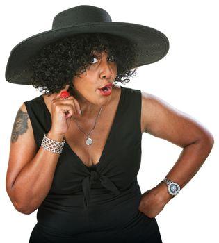 Irritated Black Woman