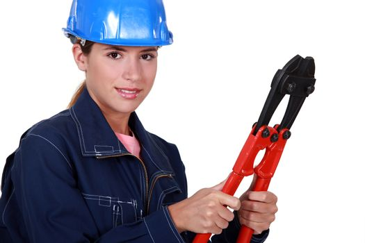 Women with tongs