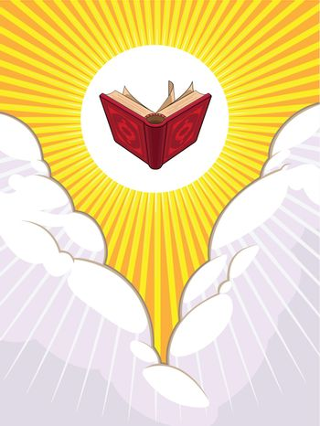 Shining Holy Book Beyond The Clouds