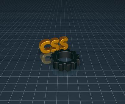 css and cogwheel
