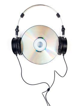 Headphones on CD