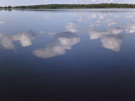 Lake Asnen in Sweden