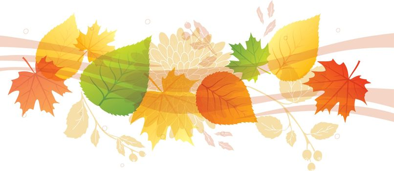 Vector illustration of Autumn background