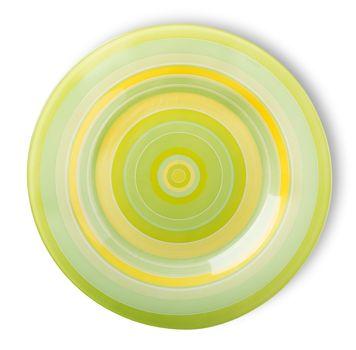 Green plate
