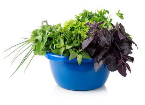 Greens in a bowl