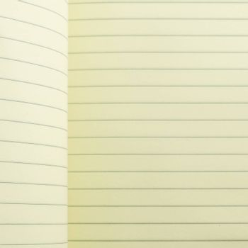 open line notebook on soft brown color