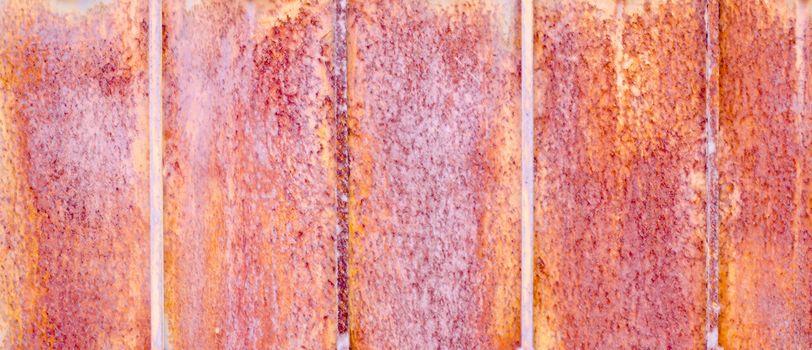 rust texture on old door