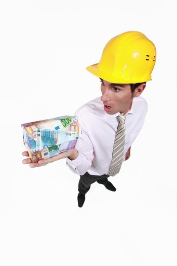 Engineer shocked to discover the money required to pay for his new project