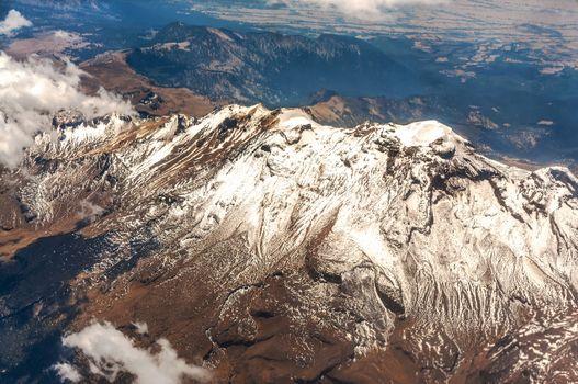 Mountains in Mexico near Mexico City