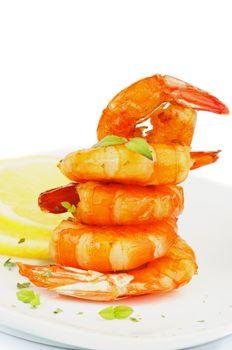 Shrimp Pyramid
