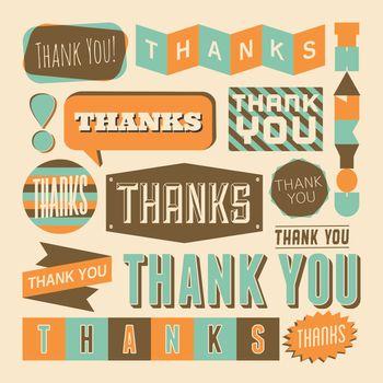 Thank You Design Elements