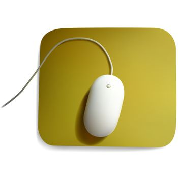 White Computer Mouse