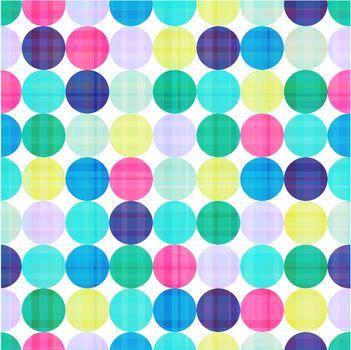 seamless circles background texture