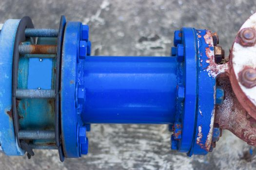 Blue Pipe fittings