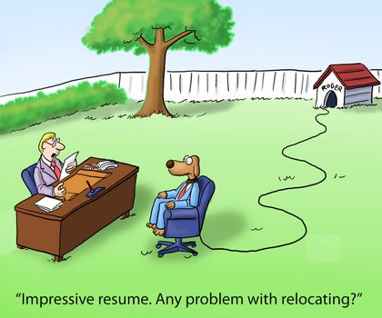 Job Interview and Relocation