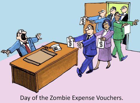 Expense vouchers