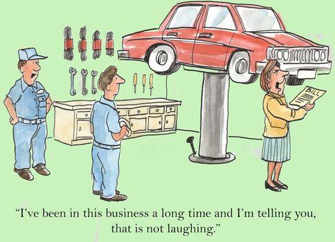 Expensive Repair Bill