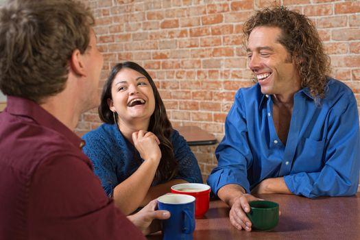 Laughing Coffee House Customers