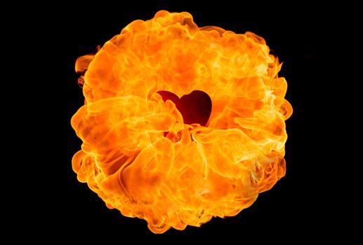 Large fireball