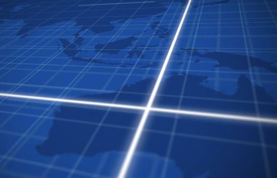 Digital global grid