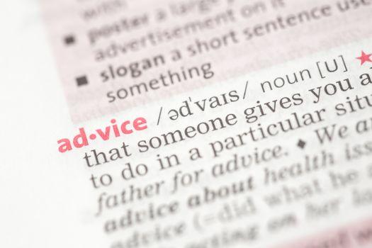Advice definition
