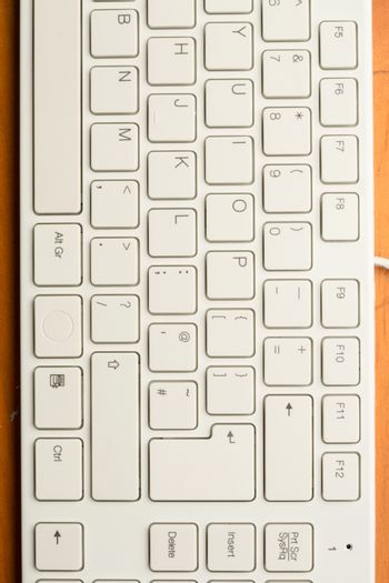 Part of a keyboard