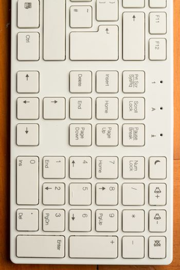 Right part of a keyboard