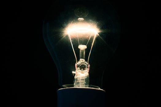 Dazzling filament bulb