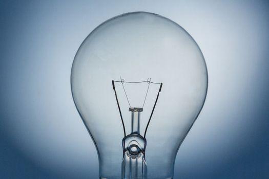 Close up of light bulb