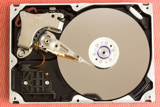 Overhead of working disk drive