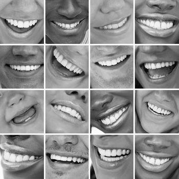 Dental care montage