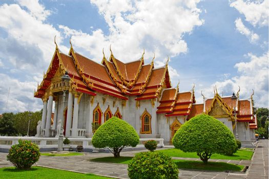 The Marble Temple in Thailand