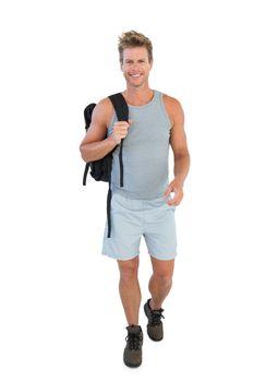 Man in sportswear